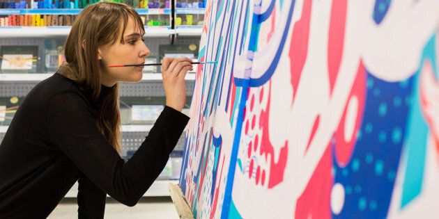 Gemma O'Brien first caught the attention of the design world as a 20-year-old student, when she posted a video to her blog hand painting her entire body as part of an anti-graffiti assignment.