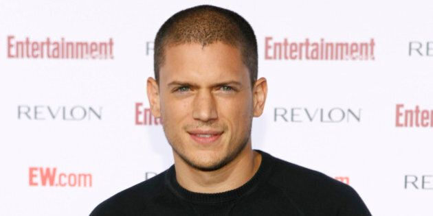 Wentworth Miller arrives at Entertainment Weekly's 5th Annual Pre-Emmy party in Los Angeles on Saturday,...
