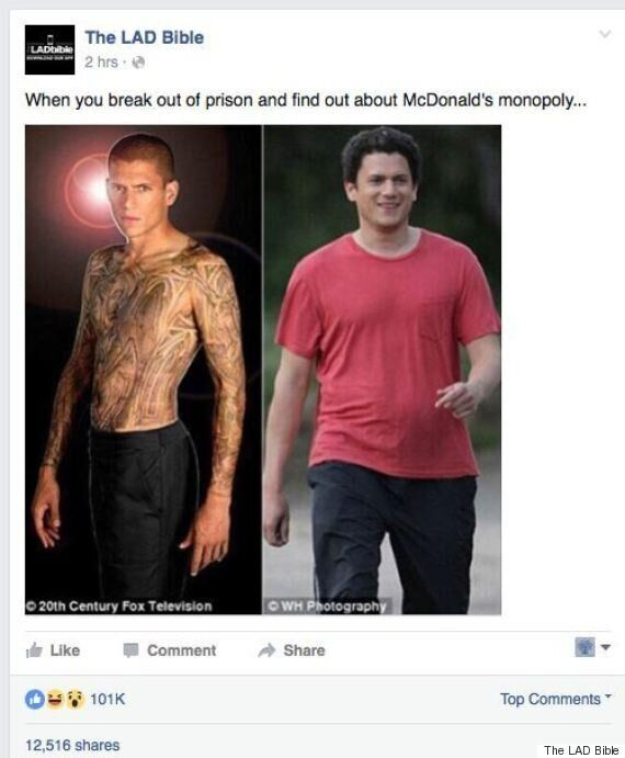 Wentworth Miller Reveals Heartbreaking Truth Behind Fat-Shaming