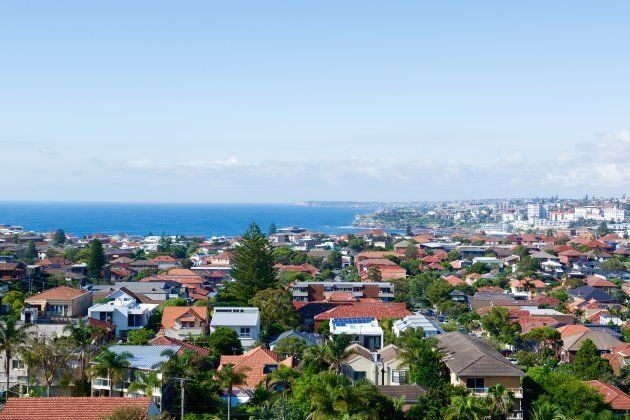 Sydney's housing is second only to Hong Kong's for