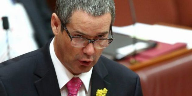 Former communications minister, Labor senator Stephen Conroy says the Government is trying to hide its...