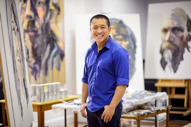 Anh Do, where all the magic happens. (His
