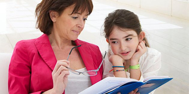 Homework Child. (Photo by: MediaForMedical/UIG via Getty