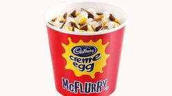 Brace Yourselves: McDonald's Has Released A Cadbury Creme Egg