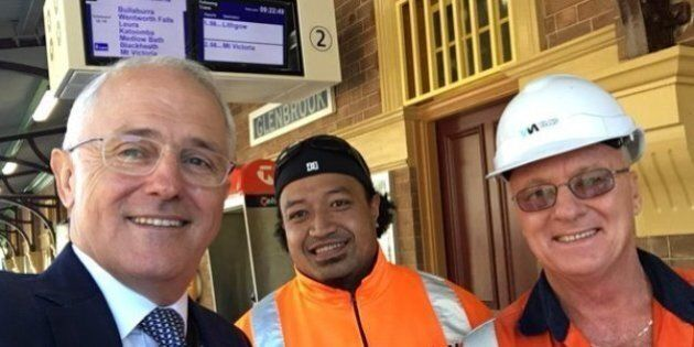 Malcolm Turnbull Is Back To Bloody Loving Public Transport