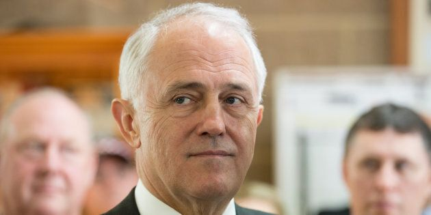 The Prime Minister Malcolm Turnbull defends the AFP over NBN