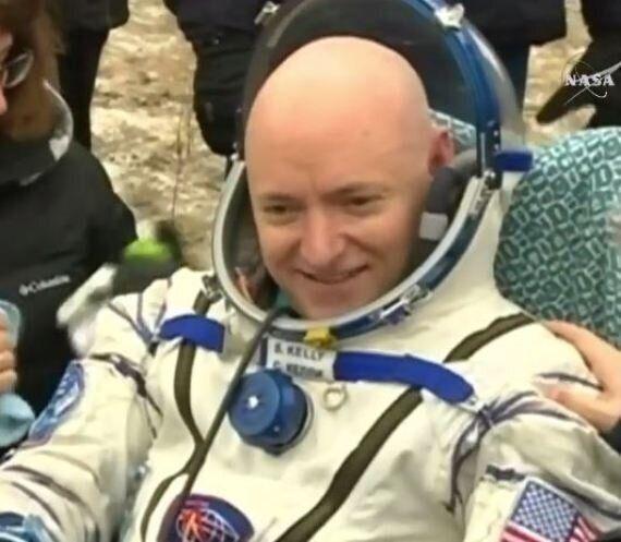 NASA Astronaut Scott Kelly Has Touched Down On