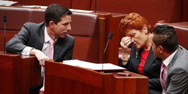 Senator Pauline Hanson said children with disabilities or autism should be removed from mainstream