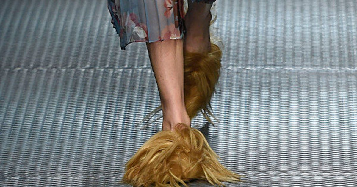 31023912f You Can Now Buy These Ridiculous Gucci Goat Hair Slippers For $2,000 ...