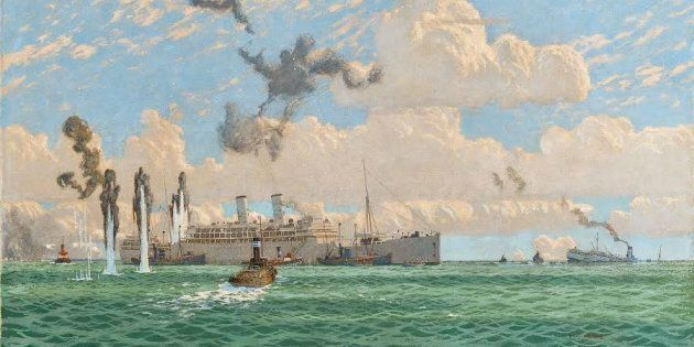 The Evacuation of St. Nazaire is an important historical document for UK maritime