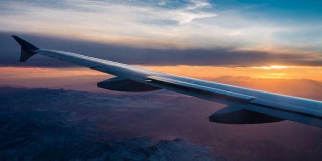 Captured just before landing in Las Vegas #flying
