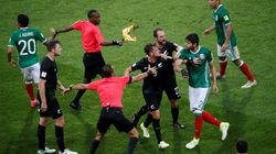 This New Zealand Player Really Hated It When A Mexican Opponent Pulled His