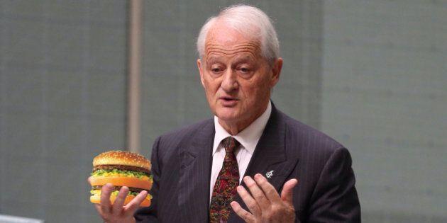 Philip Ruddock's Fitness Regime Shattered By McDonald's
