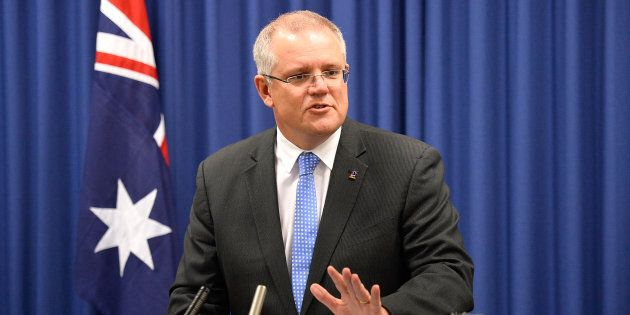 Treasurer Scott Morrison says debt and deficits are being dangerously accepted as