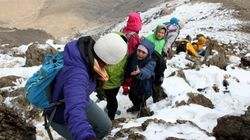 The Incredible Afghan Women Climbing Afghanistan's Top Peak Set Their Sights Even