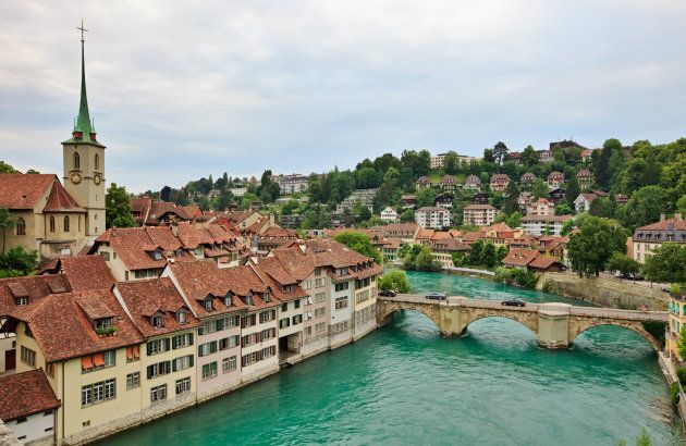 Swiss capital Bern is Switzerland's fourth most populous city.