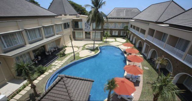 The luxury resort in East Timor where the two jail escapees were caught.