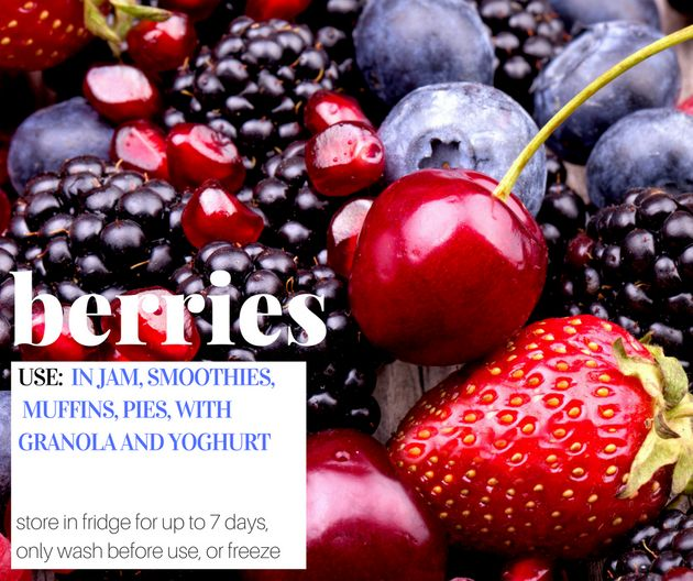 Check Out The Delicious Fruit And Veg That's Coming Into
