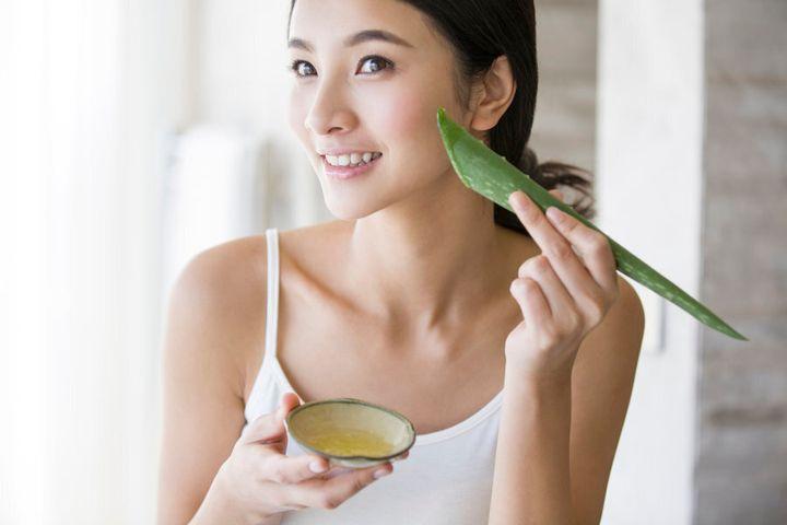 Aloe vera: nature's moisturiser.