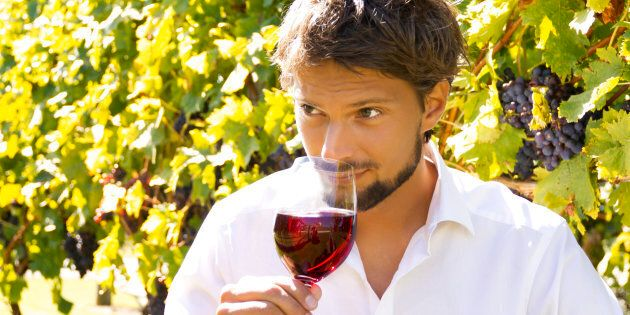 Smelling is a crucial part of wine
