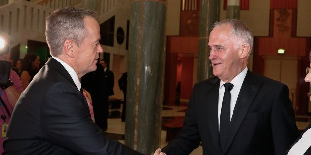 Opposition Leader Bill Shorten and Prime Minister Malcolm Turnbull are getting pay