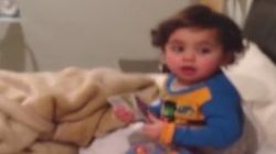 Determined Toddler Has The Perfect Bedtime Escape