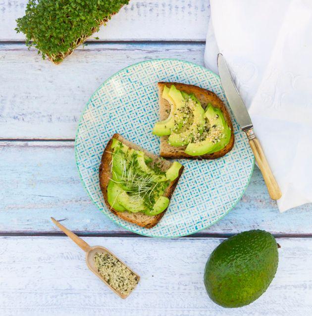 Avocado on toast is always a good