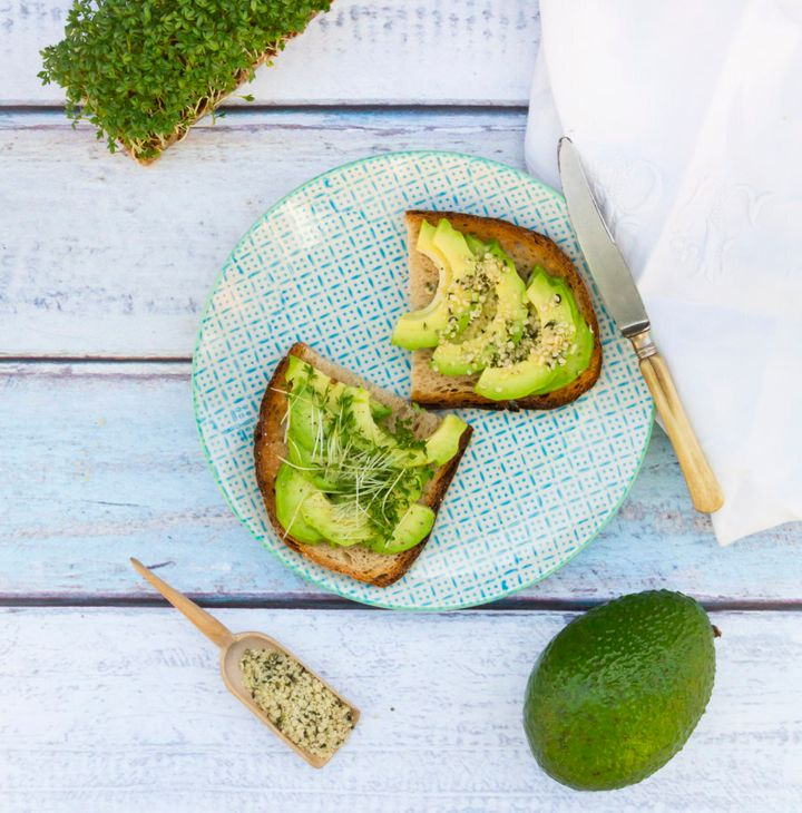 Avocado on toast is always a good idea.