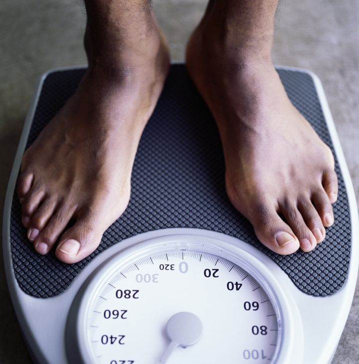Your weight can be out by a few kilos depending on the time of day, what you've eaten and how much water you've drunk.