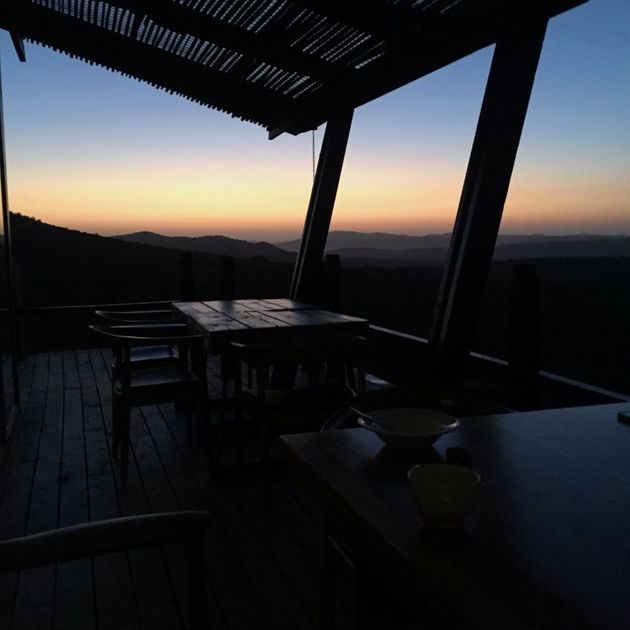 The sunrise isn't too bad,