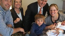 Malcolm And Lucy Turnbull Welcome Third