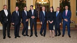 Here's The Most Awkward-Looking Government Photo