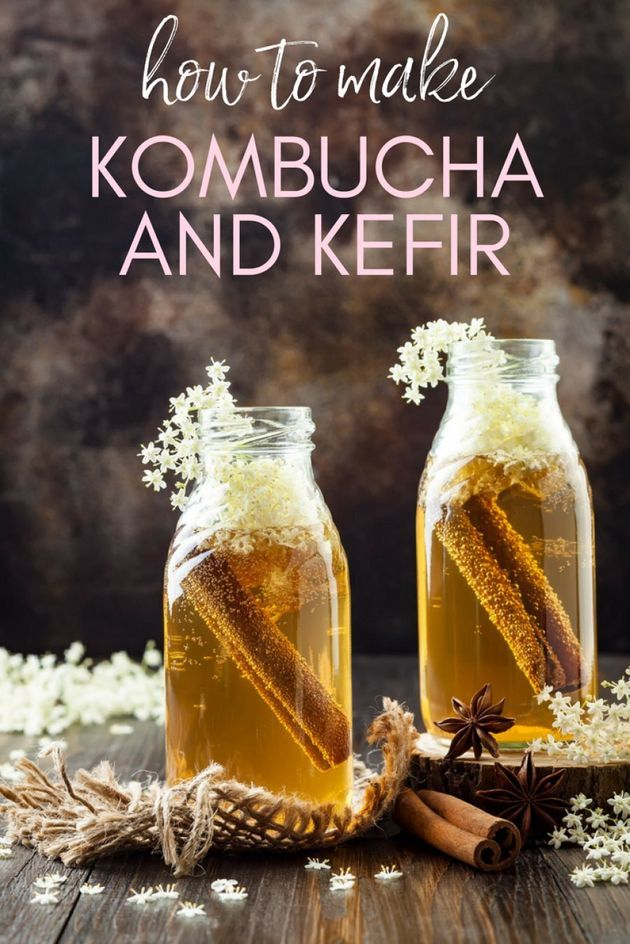 How To Make Kombucha And