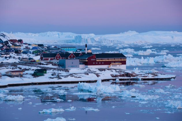 Greenland is a place of natural beauty, like the Great Barrier Reef, but its entire country's GDP is...