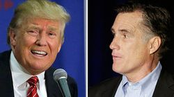 Trump Says Mitt Romney Would 'Get Down On His Knees' For His
