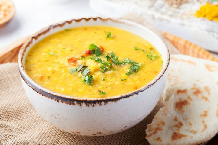 Dal is cheap, easy and delicious with rice or naan bread.