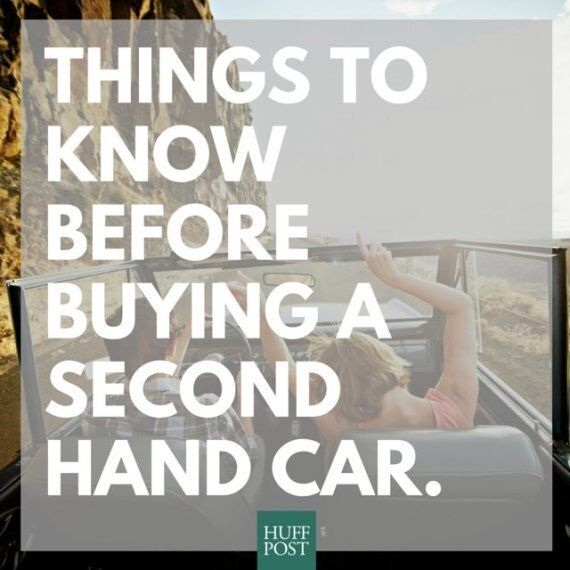 Buying A Second-Hand Car: Things You Need To