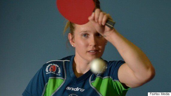 Rio Olympics: Our Newest Olympic Table Tennis Star Melissa Tapper Doesn't Even Have a Table At