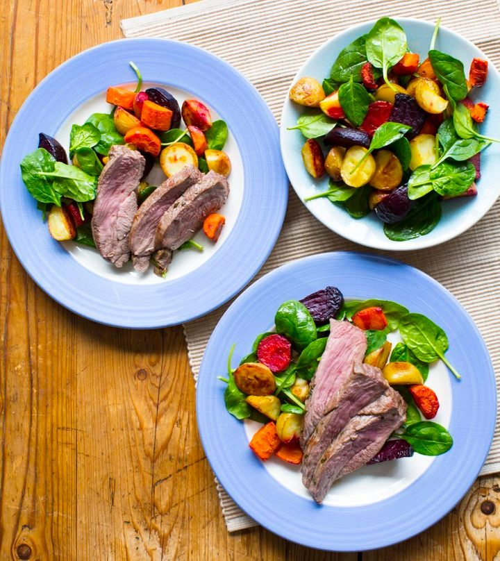 This easy lamb dish makes perfect leftovers for lunch.