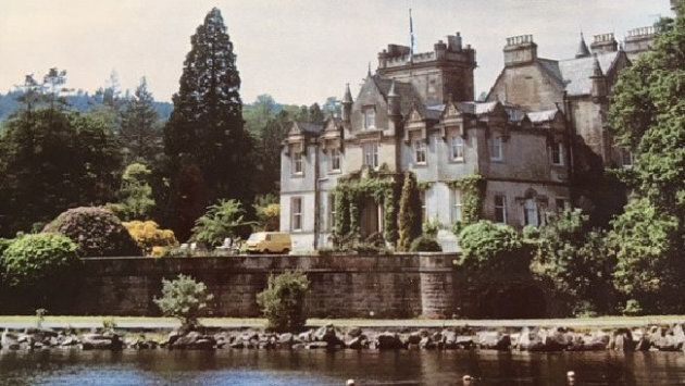 The Scottish castle where Beth lived, running a successful business employing over 100 staff.