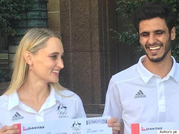 Rio Olympics: Meet Safwan Khalil and Carmen Marton, The Glamour Couple of Australia's Rio 2016