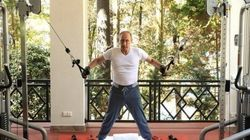 Putin Pumps Iron To Prop Up