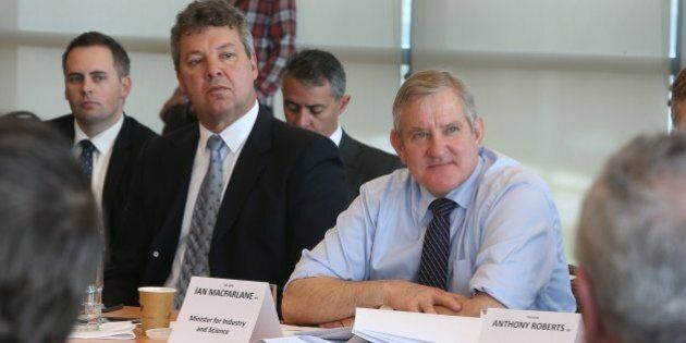 Dumped Liberal Minister Ian Macfarlane To Defect To The