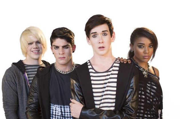 Some of the young cast members of Emo the