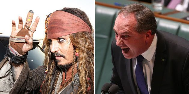It's Barnaby vs Johnny,