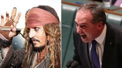Barnaby Joyce Threatened 'Dipstick' Johnny Depp With Perjury Over Pistol And Boo
