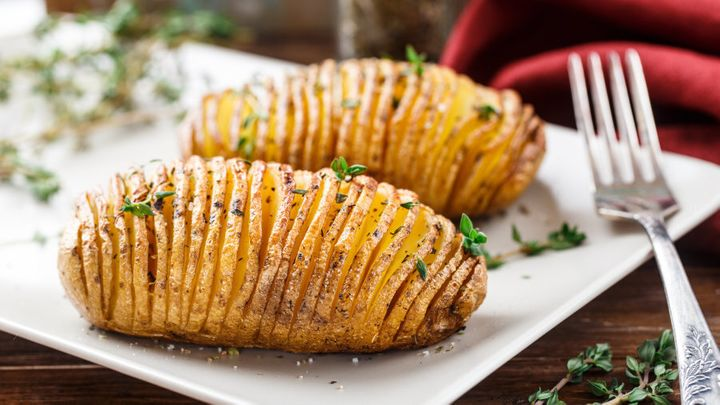 Sprinkle with cheese before baking for extra tastiness.