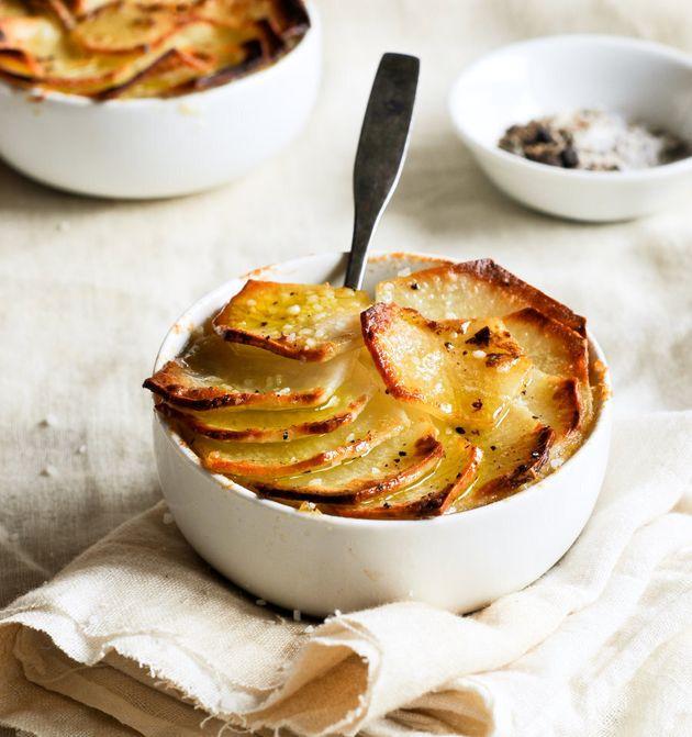 Golden, crispy potato