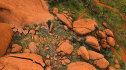 Uluru Captured From The Air In First Ever Drone