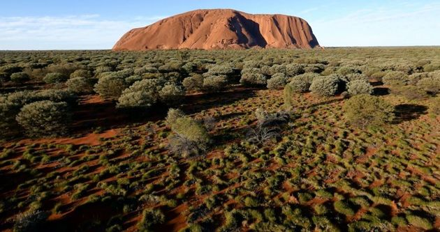 Sacred Indigenous Site Uluru Captured In World-First Drone